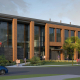 UW Meat Sciences - Exterior Building Rendering