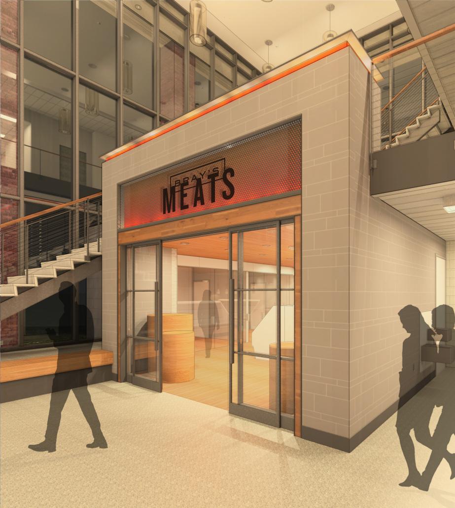 UW Meat Sciences - Lobby/Retail Rendering