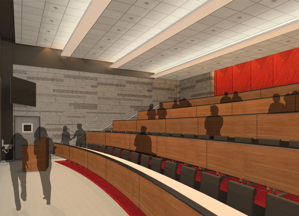 UW Meat Sciences - Lecture Hall Rendering