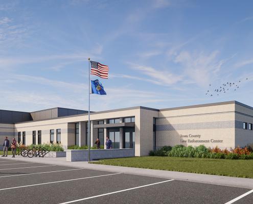 iow county law enforcement building