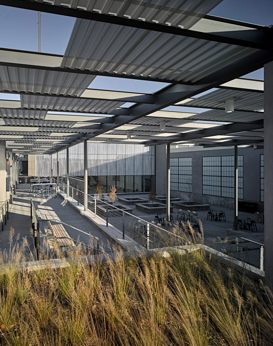 exact sciences clinical processing lab outdoor space