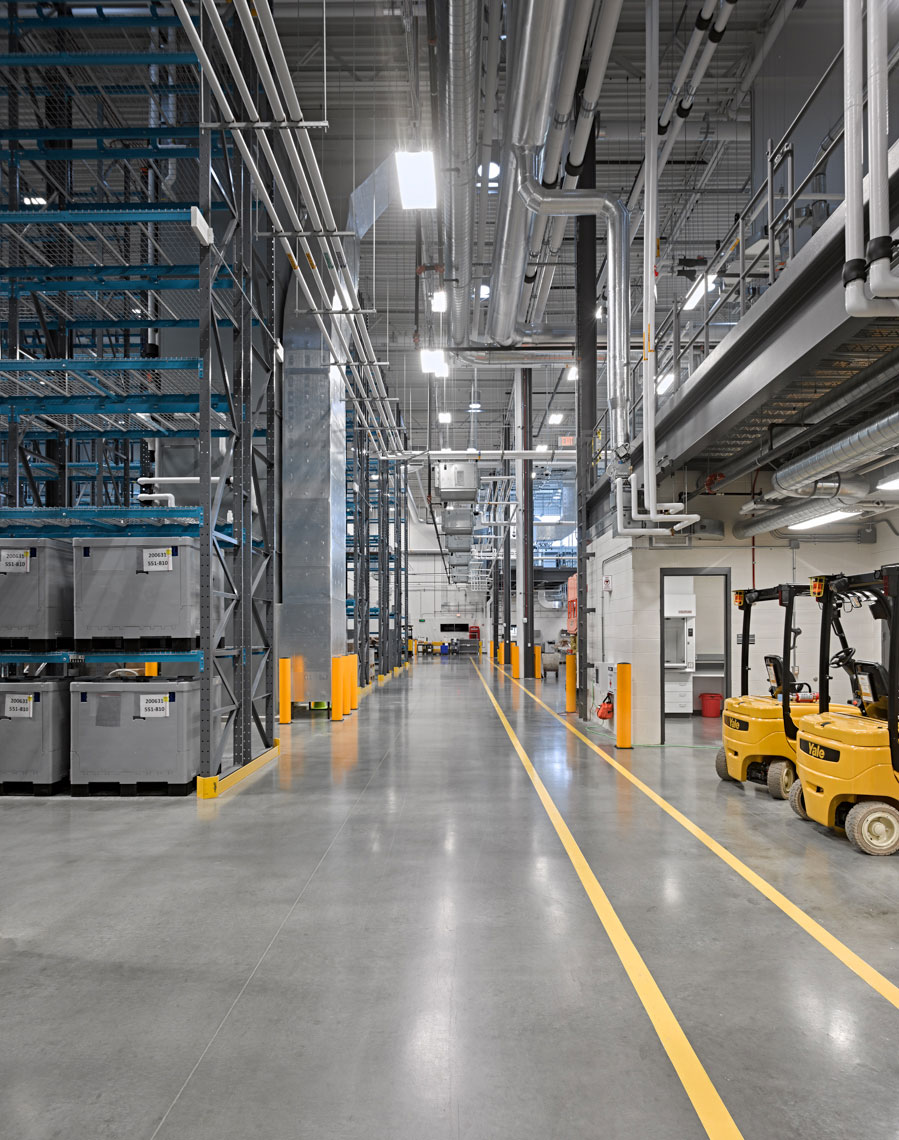 exact sciences clinical processing lab warehouse