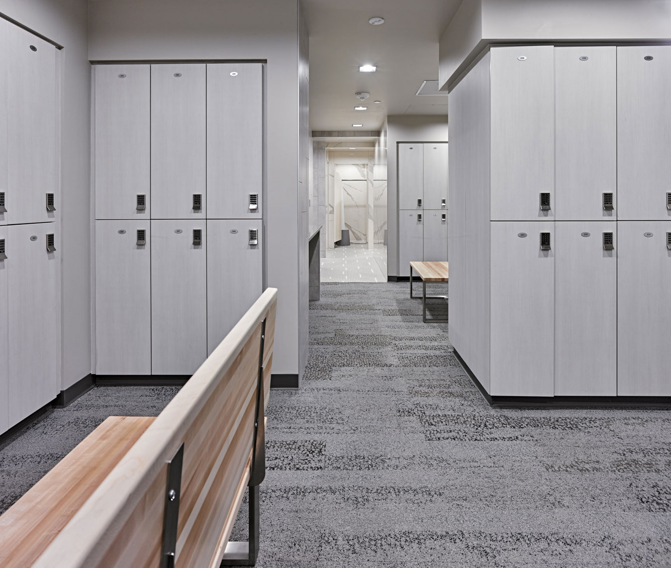 exact sciences discovery campus amenities building showers