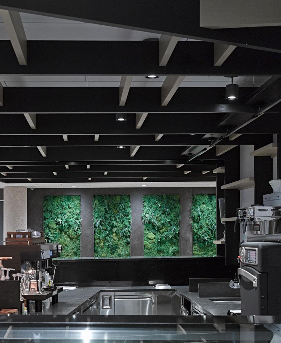 exact sciences green wall design potter lawson
