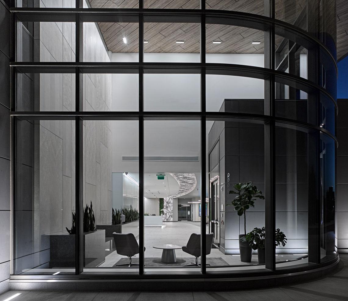 exact sciences innovation headquarters lobby design madison wi