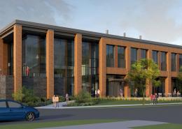 UW Meat Sciences - Exterior Building Rendering