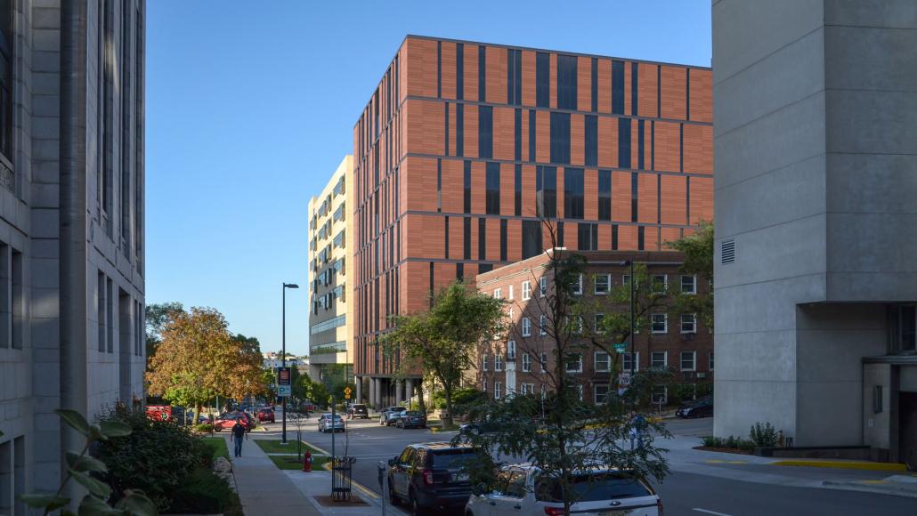 dane county jail consolidation design exterior