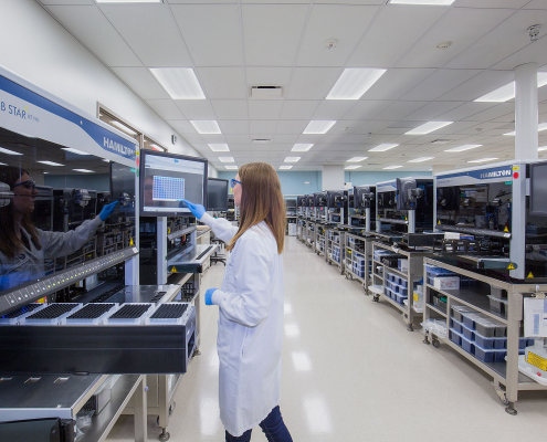 exact sciences badger road lab technology