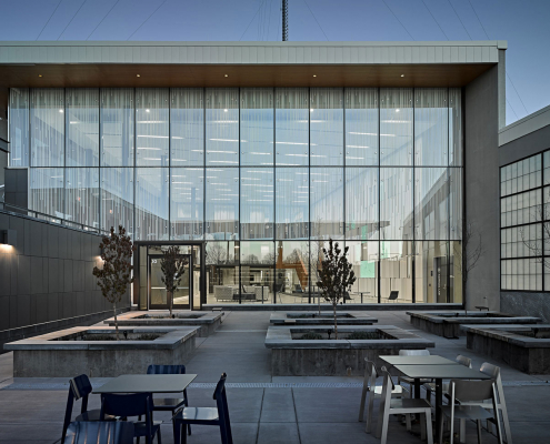 exact sciences outdoor space
