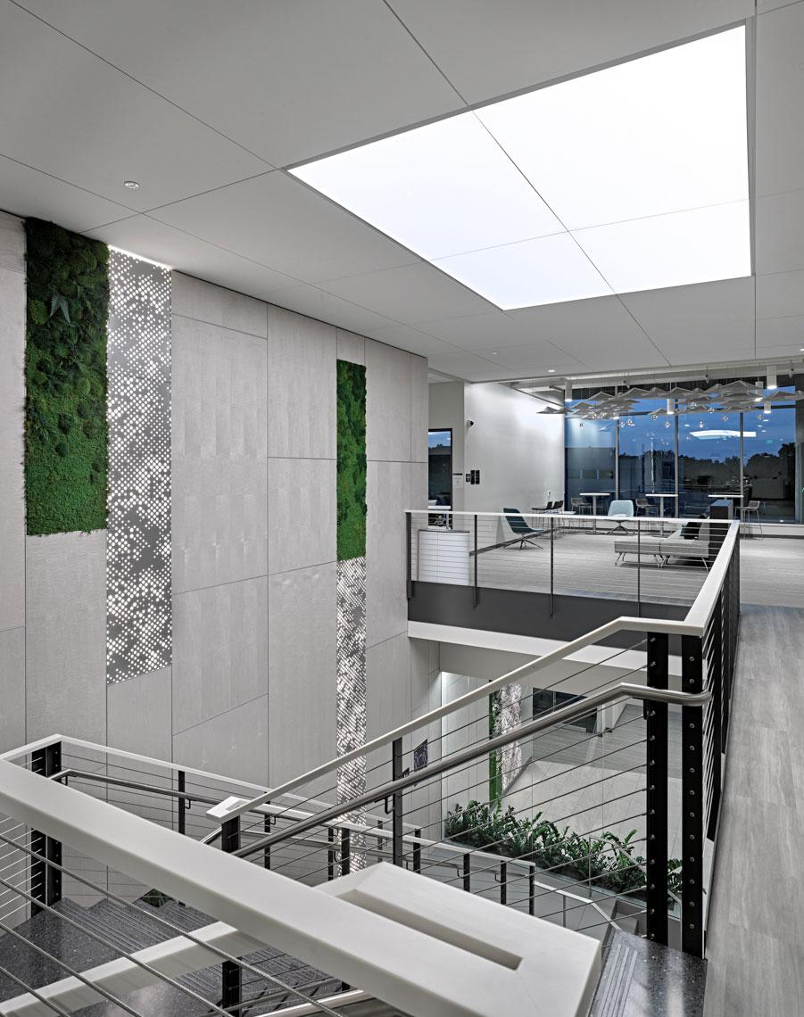 green design exact sciences staircase